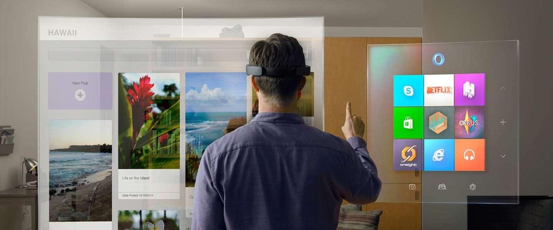 HoloLens: Alternatieve virtual reality van Microsoft