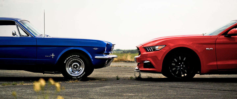 Ford Mustang. Al 50 jaar dolle pret.