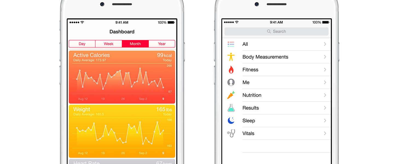 HealthKit apps nog niet beschikbaar in iOS 8