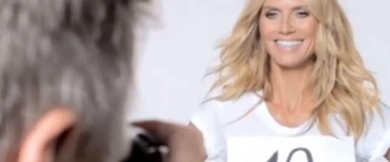 Heidi Klum basht Donald Trump in ludiek fimpje #heiditrumpstrump
