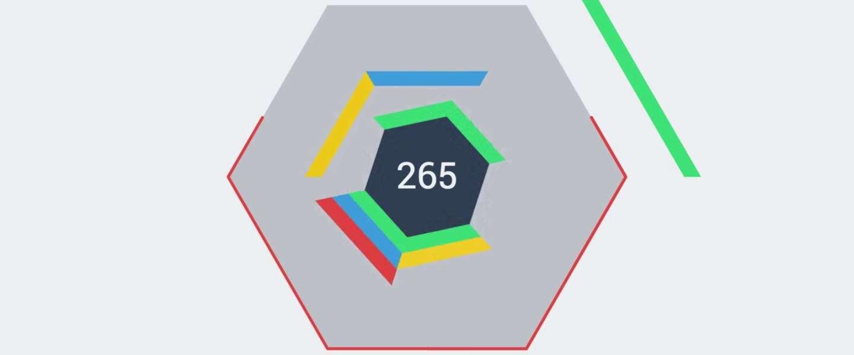 Wordt Hextris net zo verslavend als Tetris, kijk uit dit is een gevaarlijk artikel