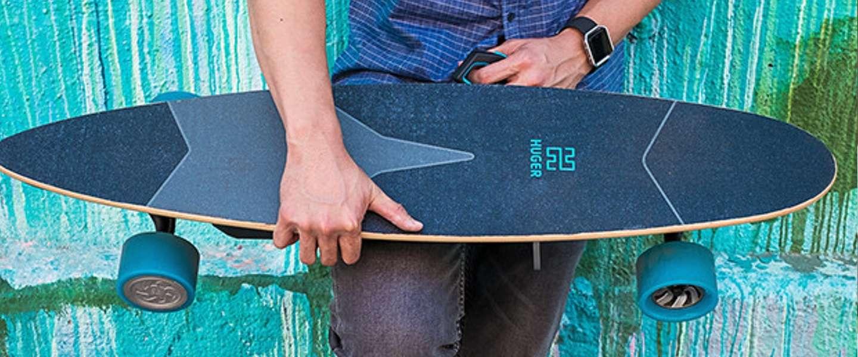 Het Huger elektrische skateboard belooft betaalbare power