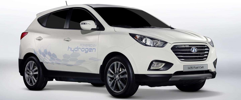 Hyundai ix35 Fuel Cell Electric Vehicle