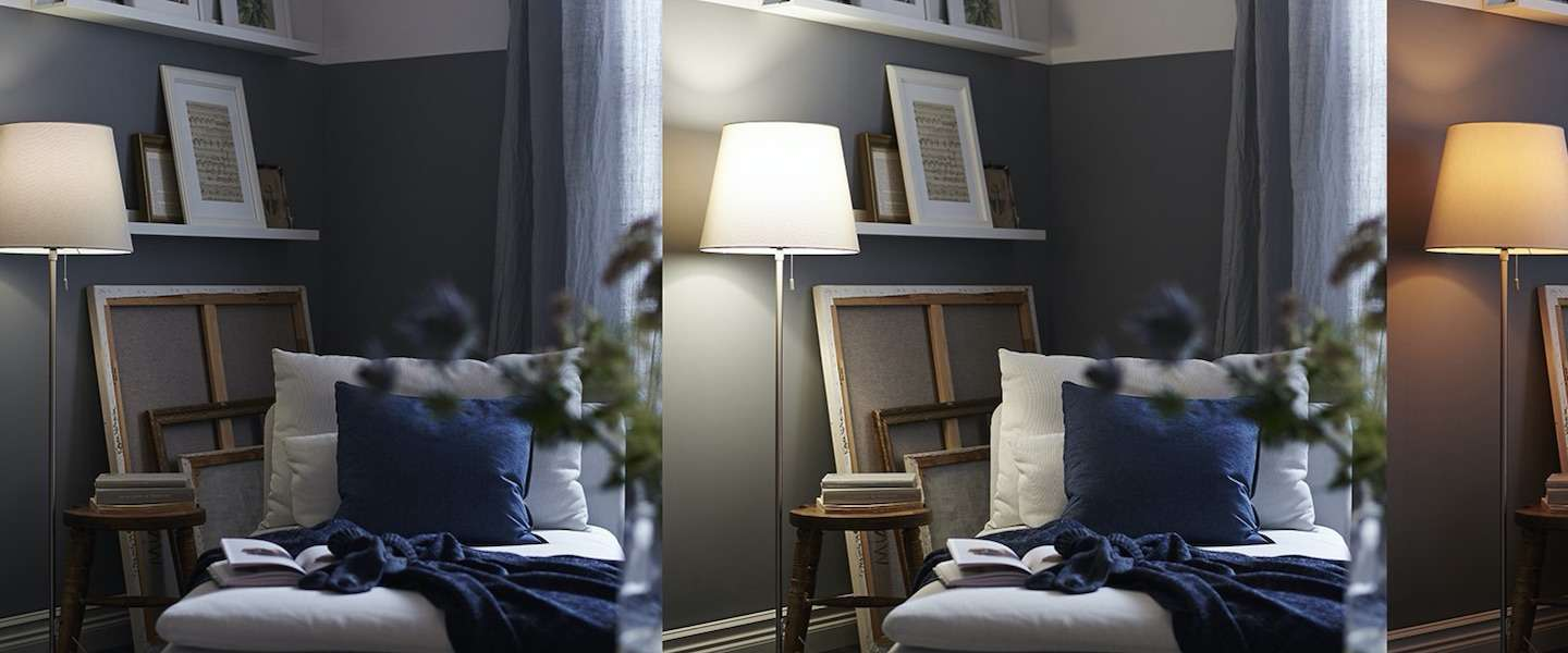 ikea komt met slimme lampen voor in een smart home. Black Bedroom Furniture Sets. Home Design Ideas