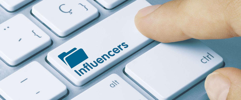 Influencers, influencers en influencers op social media
