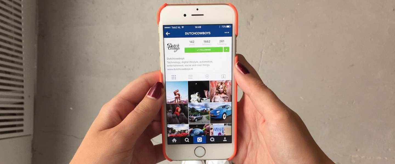 Instagram test ondersteuning voor meerdere accounts