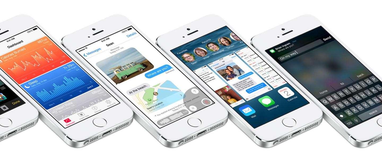 iOS 8 nadert voltooiing, Apple van plan medio september iPhone te lanceren