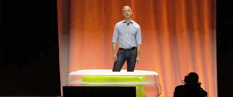 Nog één keer de ALS Ice Bucket Challenge met Jeff Bezos CEO van Amazon