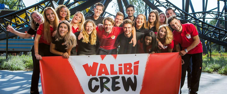 'Join the Walibi crew' zet Walibi Holland als werkgever op de kaart