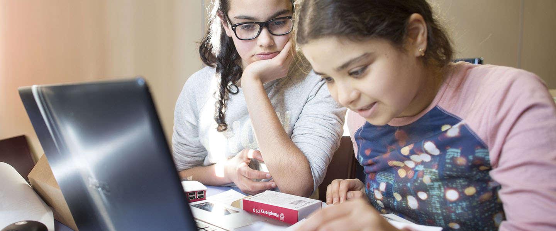 Kinderen leren programmeren met de Raspberry Pi