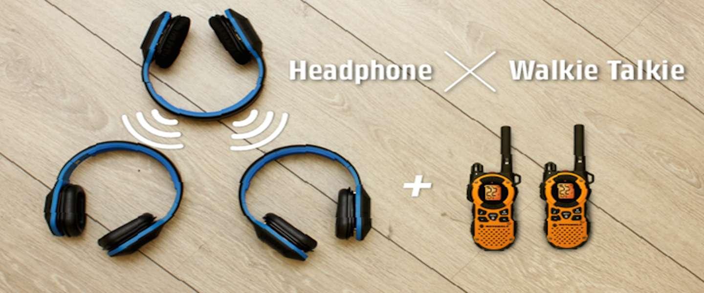 Combat Sync: een koptelefoon en walkie talkie in één