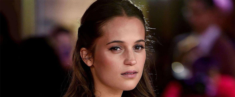 Alicia Vikander is Lara Croft in de nieuwe Tomb Raider film