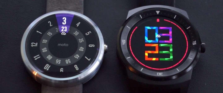 LG G Watch R vs Moto 360 (video)