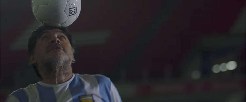 Maradona: remake van een legendarische video