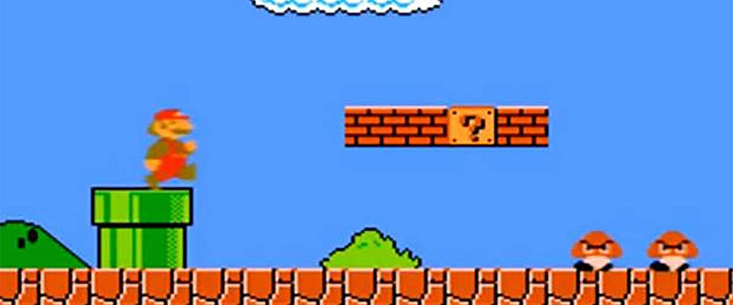 Easter Egg van Google voor Super Mario Bros
