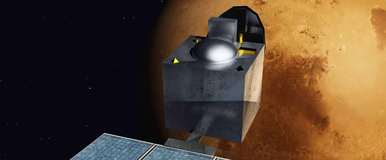 De Mars Orbiter start met tweeten vanuit de ruimte