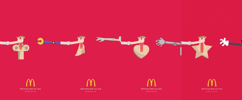 McDonald's geeft klassieke figuren wat ze willen in nieuwe campagne