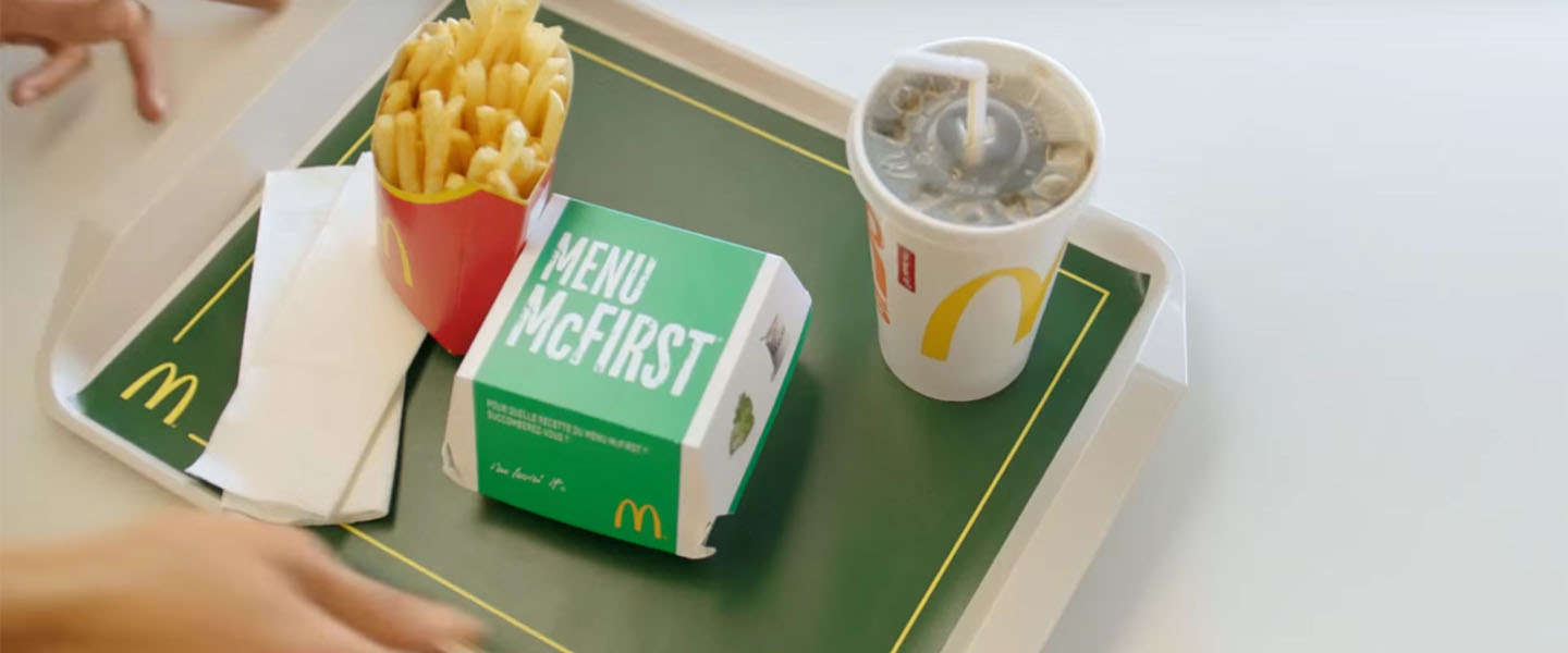 McDonald's McFirst menu? You must be clever!