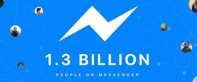 Facebook Messenger nu evenveel gebruikers als WhatsApp