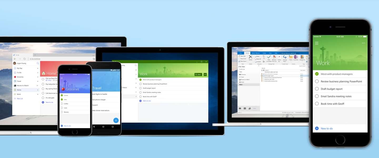Microsoft's nieuwe To Do-app gaat Wunderlist vervangen