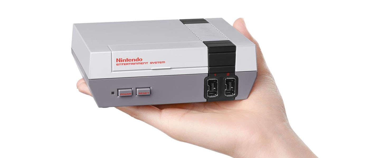 Retro: Nintendo lanceert in november een Mini-NES