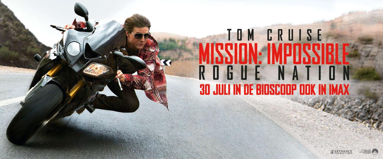 Win: 2x2 kaarten voor de première van MISSION: IMPOSSIBLE - ROGUE NATION