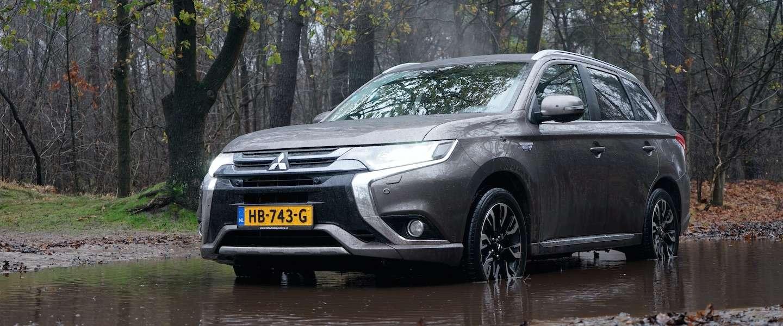 Mitsubishi Outlander PHEV: een zeer comfortabele gezinsauto