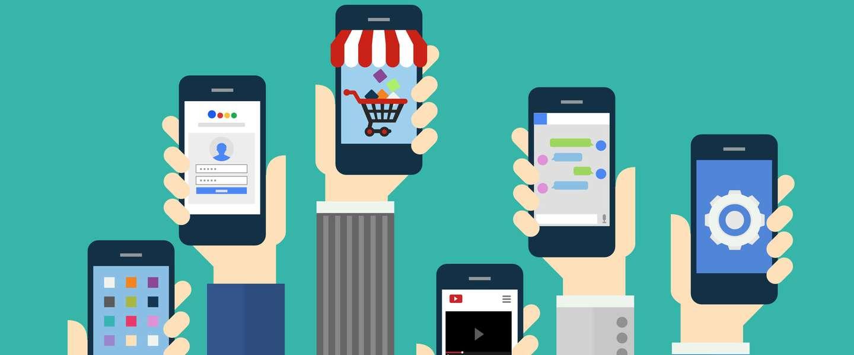 Merkbescherming in mobiele apps