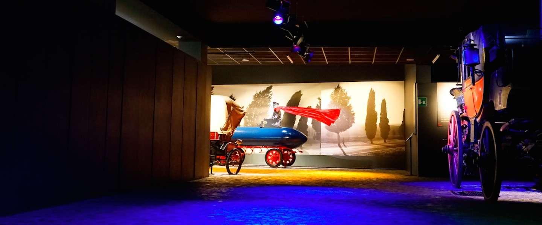Het automuseum in Turijn, een walhalla voor autoliefhebbers
