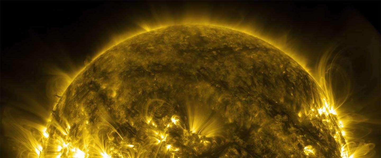 4K video van NASA: een portet over de zon