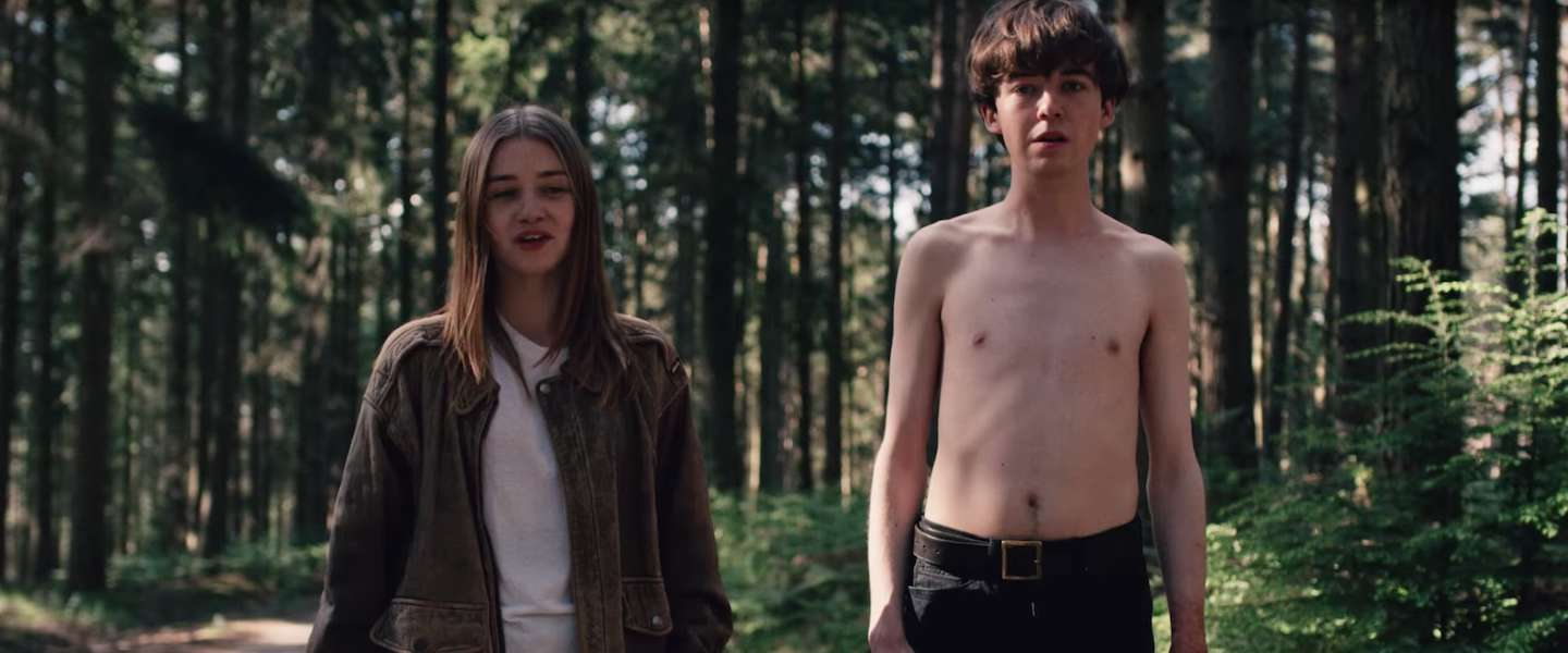 Netflix serie The End of the F**king World: duister of grappig?