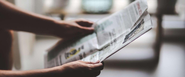 We gaan steeds vaker op zoek naar nieuws via social media
