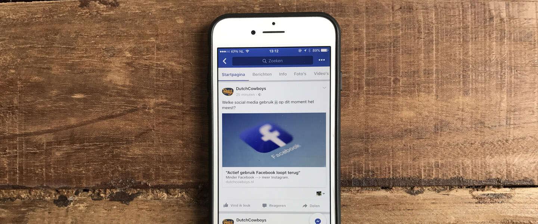 Facebook en de nieuwsfeed: links spammen aangepakt