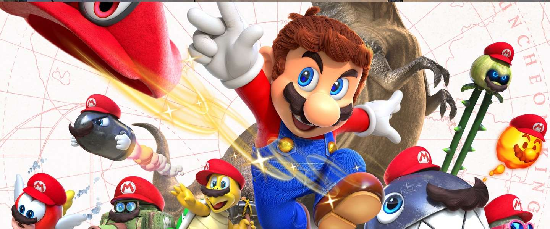 Nintendo op gamescom: Mario Odyssey, Metroid en de SNES Mini