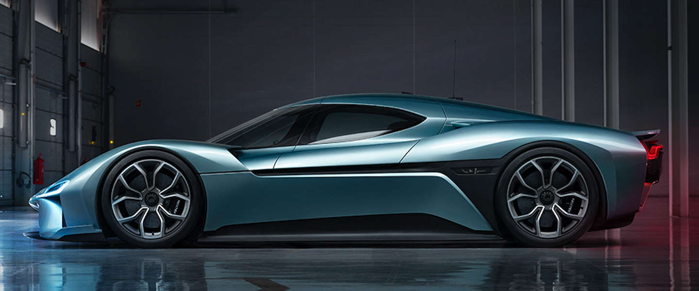 Dit is de NIO EP9 's werelds snelste elektrische auto