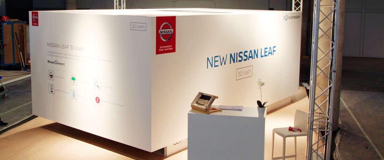 Unboxing doe je zo: Nissan presenteert de Leaf 30 kWh
