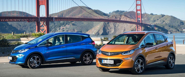 Opel Ampera-e maakt zijn debuut in de straten van San Francisco