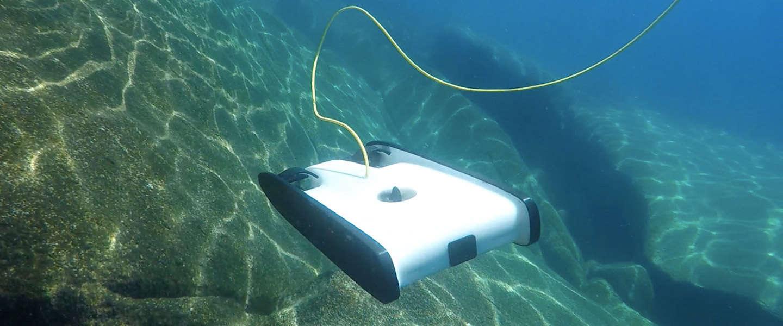 Trident: de onderwater-drone die de beelden live naar je smartphone streamt!