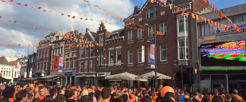 Met 12,4 miljoen mensen is Nederland - Argentinië de best bekeken Oranje wedstrijd