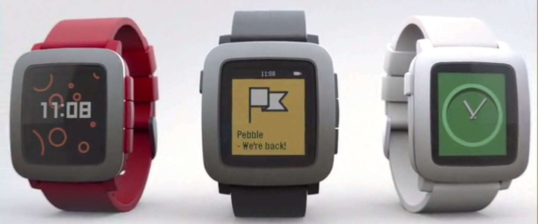 Pebble introduceert de Pebble Time via Kickstarter