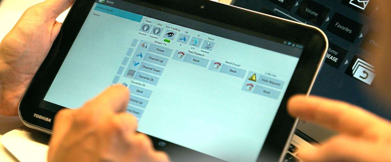 Braincommand's voor het besturen van gadgets, verlichting of TV