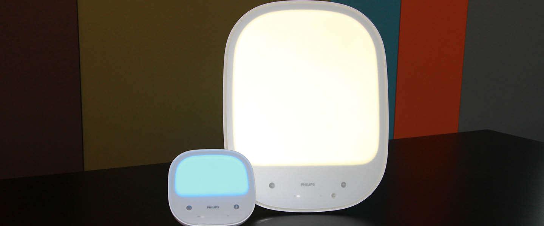 Doe je winterdip de das om met de Philips Energy Up lampen