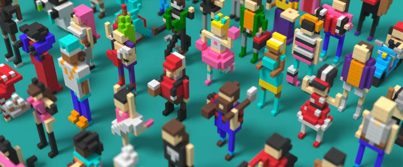 Cool: Pixio magnetische blokjes om 3D pixelart mee te maken