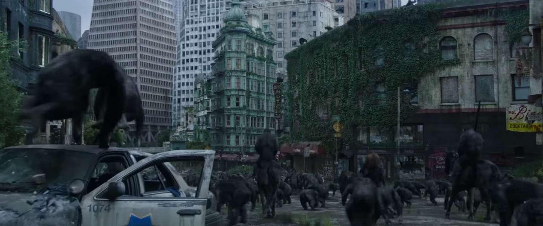 Laatste trailer voor 'Dawn of the Planet of the Apes': It's war!