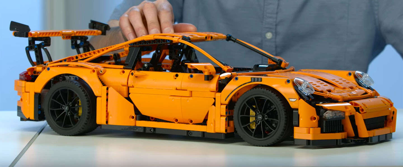 Must have: deze Porsche 911 GT3 RS van Lego