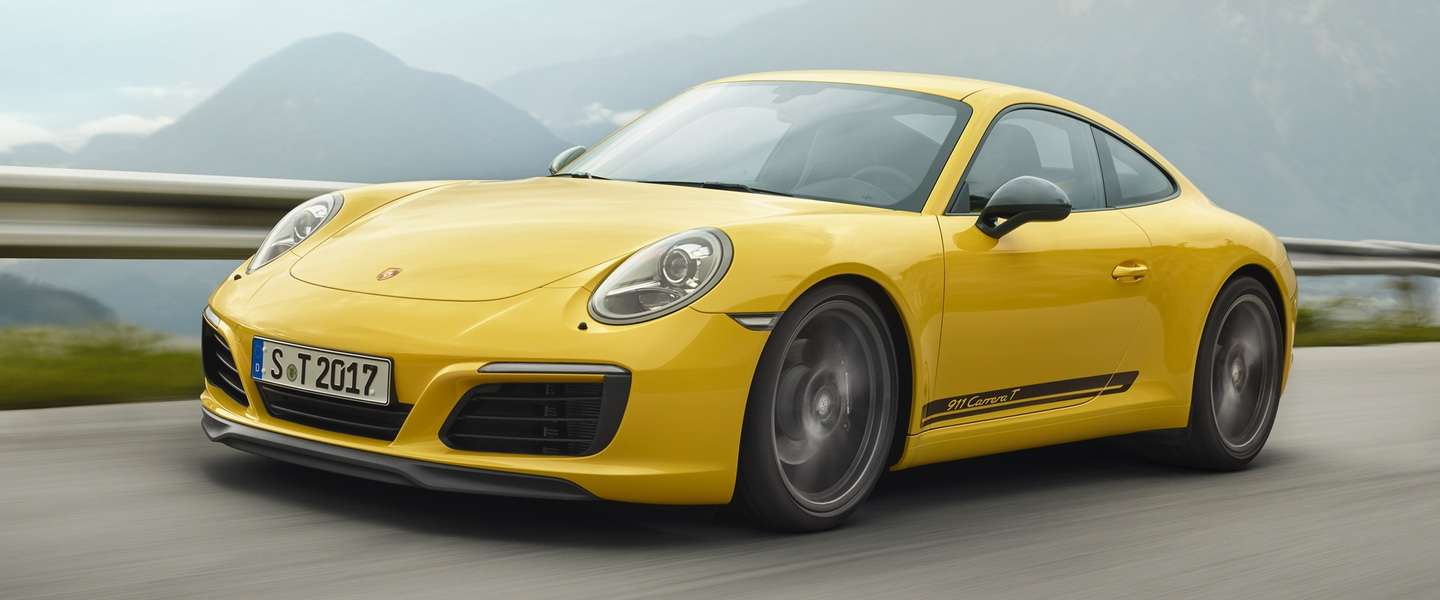 De Porsche 911 Carrera T: minder is meer