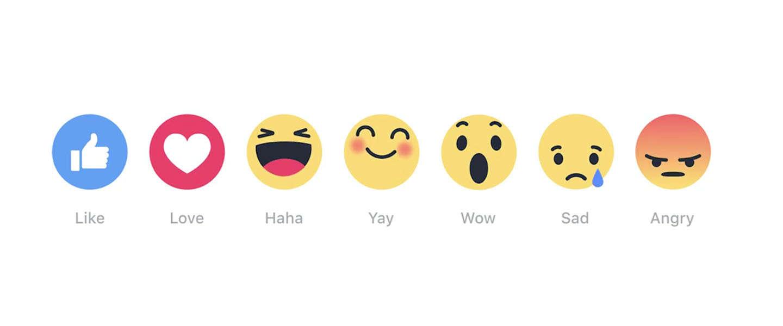 Reactions: het nieuwe 'liken' op Facebook