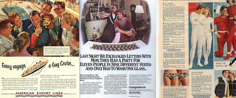 15x vintage advertenties