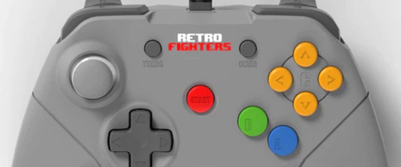 Alternatieve Nintendo 64-controller doet zaken op Kickstarter