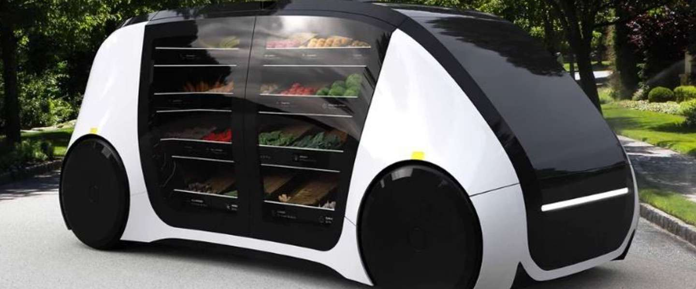 Robomart: zelfrijdende mini-supermarkt komt naar je toe